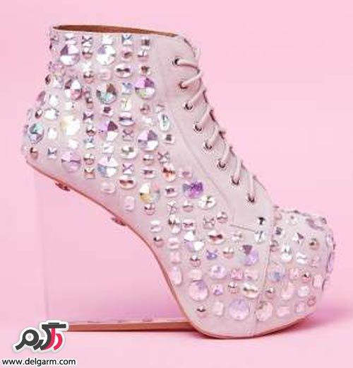 کفش پاشنه بلند دخترانه - مد ایرانیکفش پاشنه بلند دخترانه