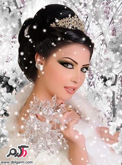 مدل های زیبای شنیون زنانه ویژه عروس