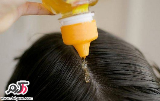 درمان ریزش مو با عسل