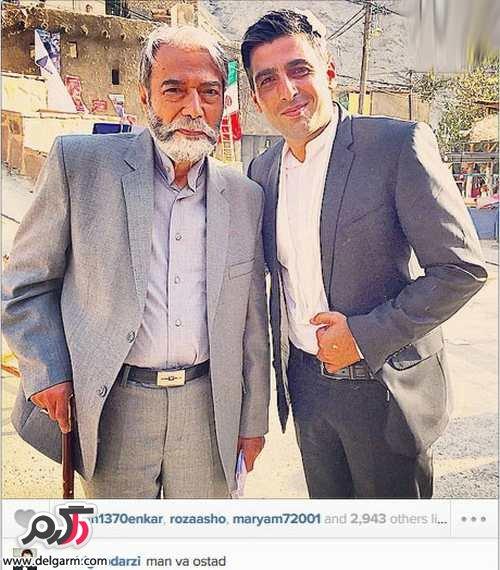 ستارگان و چهره های ایرانی در دنیای مجازی