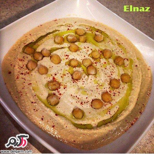 طرز تهيه هموس (حمص) لبنانى