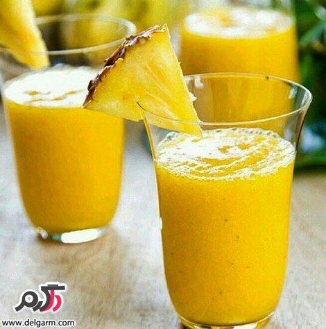 اسموتی پرتقال آناناس