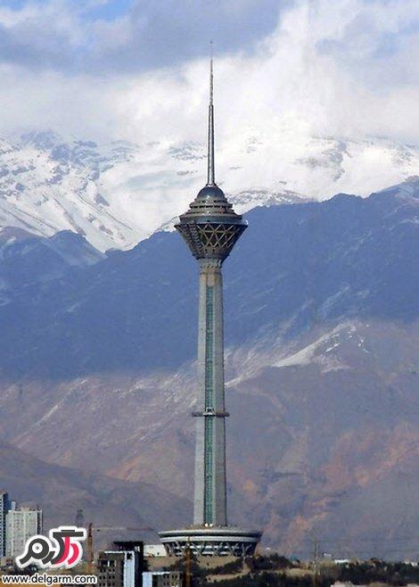 عکس جدید برج میلاد