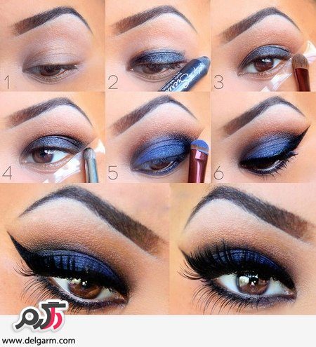 آموزش آرایش چشم جدید مجلسی