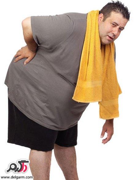 مرتب به باشگاه رفتن و وزن کم نکردن