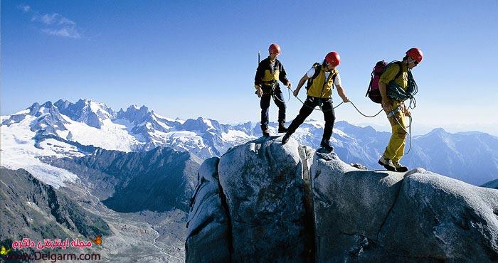 خطرات،هشدارها و پیش شرط های کوهنوردی + عکس
