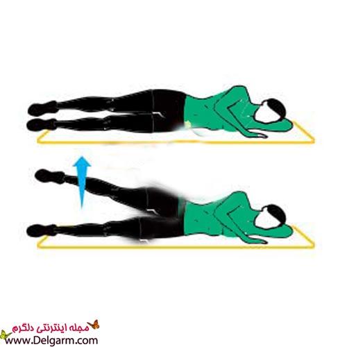 تمرینات ورزشی برای لاغر کردن ران و باسن + عکس