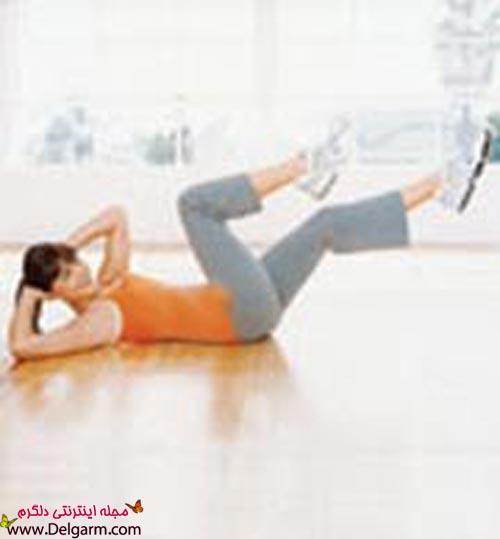 بهترین و ساده ترین راه برای داشتن شکمی جذاب و عضلانی + عکس