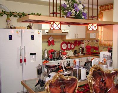 تزیین پارکینگ خانه تزیین آشپزخانه عروس (تصویری)