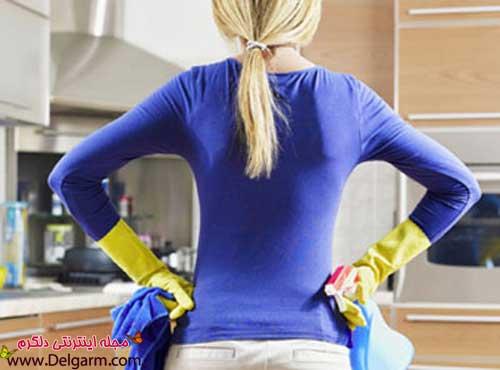 چگونه وسایل آشپزخانه را براق کنیم؟