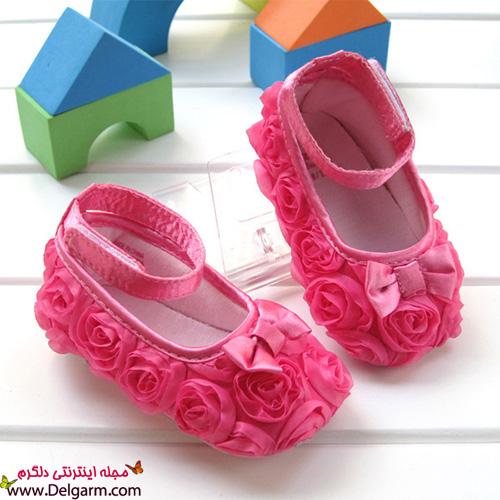 کفش های بچه گانه با تم رنگ صورتی - جديدترين اخبار ايران و جهان ...دل کفشهای بچه گانه با رنگ های زیبا برای شما در این پست قرار داده ایم.