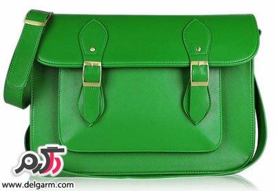 مدل کیف سبز زنانه