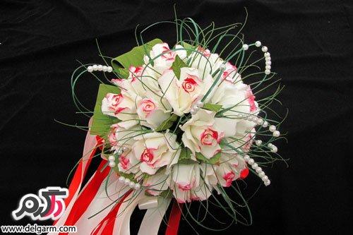 جدیدترین عکس از دسته گل عروس