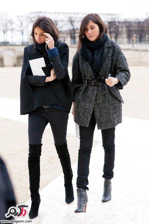 مدل لباس زنانه مختص هوای سرد