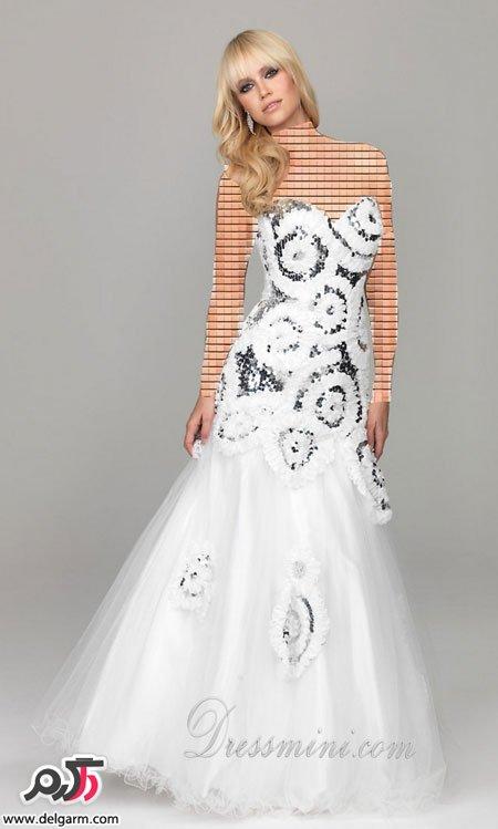 مدل لباس نامزدی بلند مدرن 2015