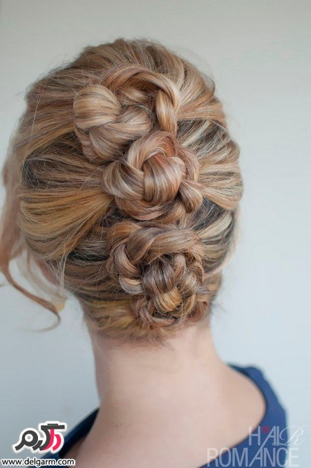عکسهایی از رنگ مو زنانه همراه با تم قهوه ای