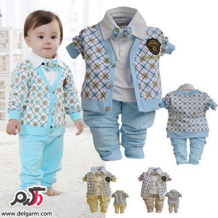 لباس پسرانه بچه گانه اسپرت و زیبا