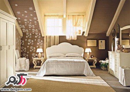 دکوراسیون اتاق خواب کلاسیک و خوشکل