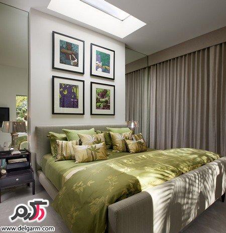 عکس اتاق خواب عروس و داماد زیبا