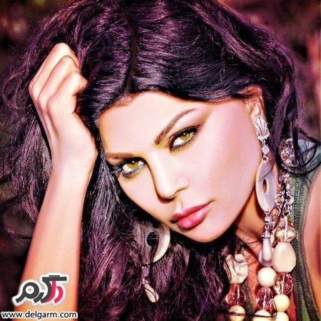 عکس هیفا خواننده عرب