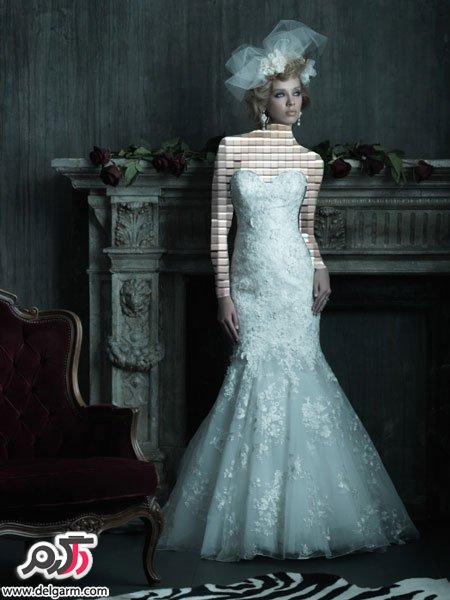 جدیدترین مدل لباس عروس سفید و شیری
