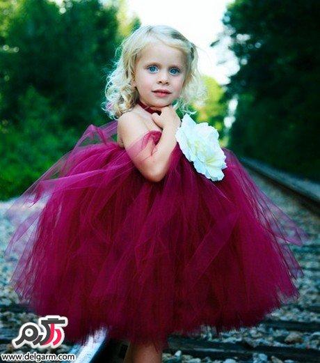 مدل لباس نخی بلوز جدیدترین مدل لباس مجلسی دخترانه کودکانه