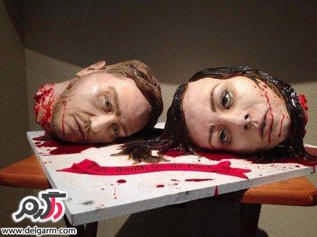 شب عروسی خونین با قطع کردن سر عروس + عکس
