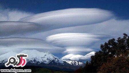 تصاویری از ابرهای عجیب و غریب