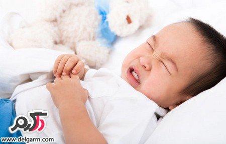 درمان دل درد نوزادان زیر یک ماه