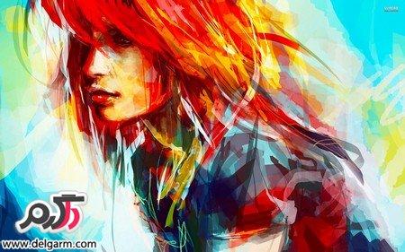 تصاویری از نقاشی با رنگ روغن