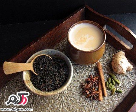 چای ماسالا با دارچین