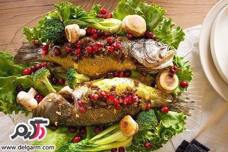 ماهی سفید شکم پر را چگونه درست کنیم؟