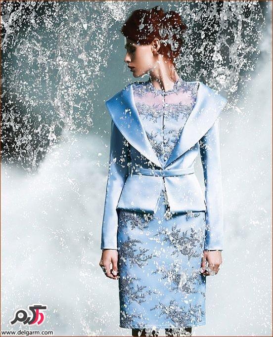 مدل های لباس مجلسی بلند زنانه kenzel