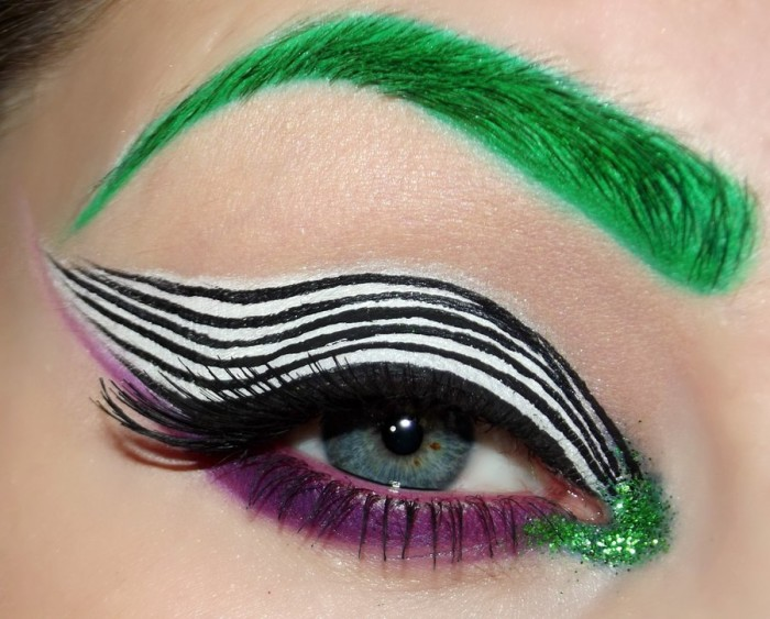 This Eye Catching Makeup Will Turn Heads This Halloween