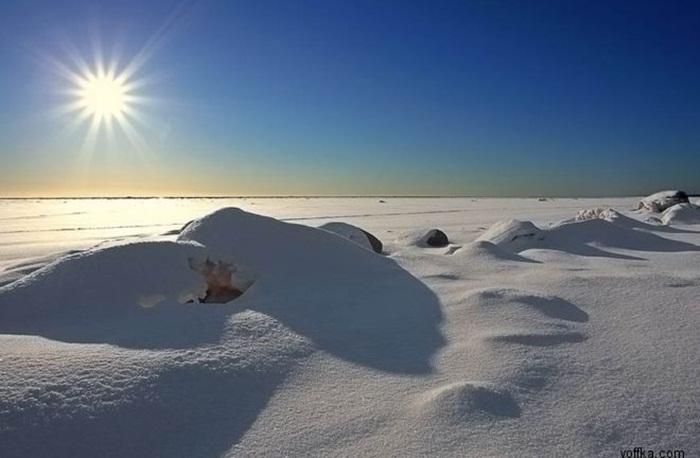 مناظر بسیار زیبا از زمستان