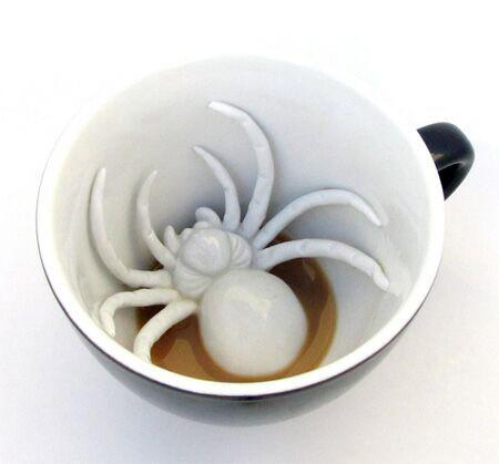 خلاقیت جالب در فنجان..!!