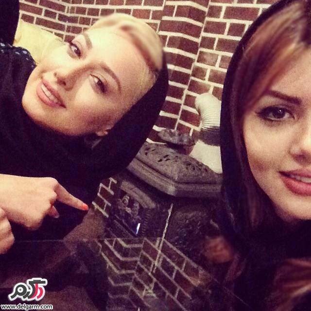 هانیه توسلی در  عکس های جدید صدف طاهریان94