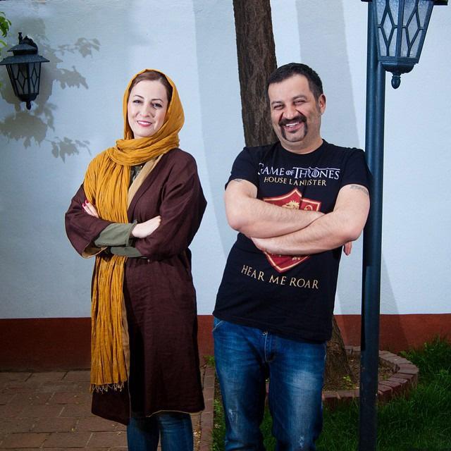 تصاویری از شقایق دهقان و خانواده اش