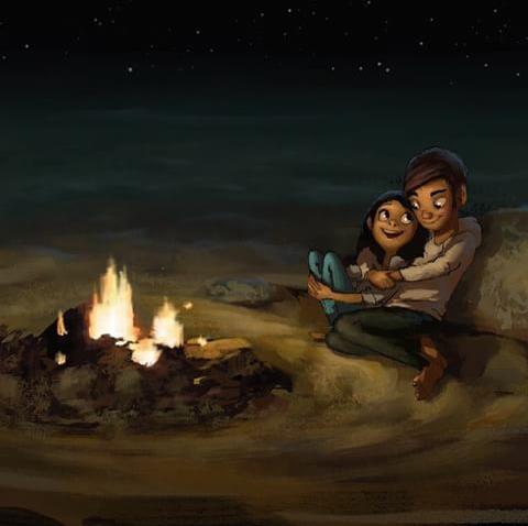 نقاشی های زیبای فانتزی و عاشقانه 4