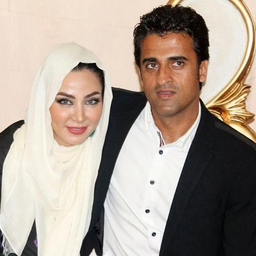 عکس های فقهیه سلطانی و همسر فوتبالیستش