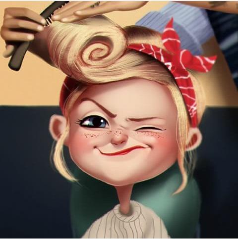 Image result for مدل نقاشی فانتزی