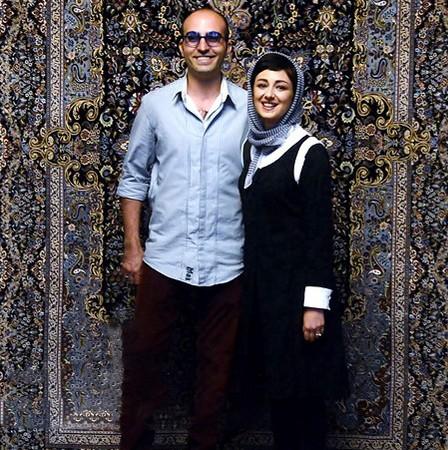 ویدا جوان در کنار همسرش .!!!