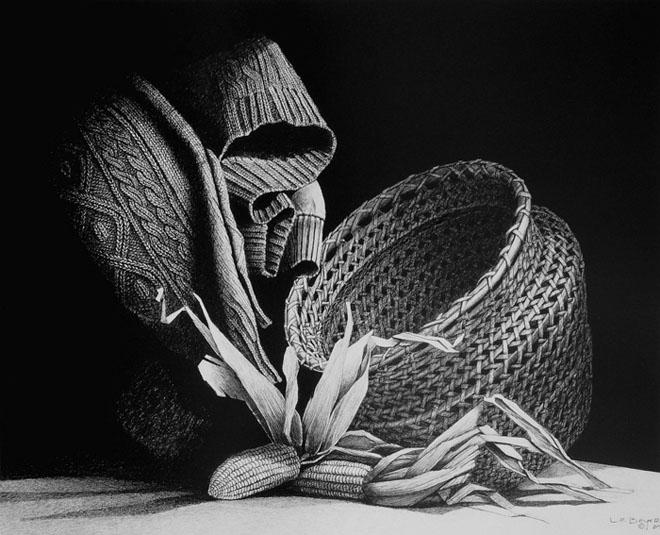 شاهکار های نقاشی سیاه و سفید