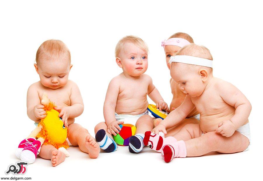 نوزاد، مراقبت از کودک، هوش، تقویت هوش،بارداری، بازیهای نوزاد