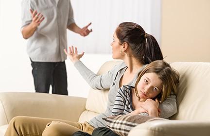 علت دعوا والدین