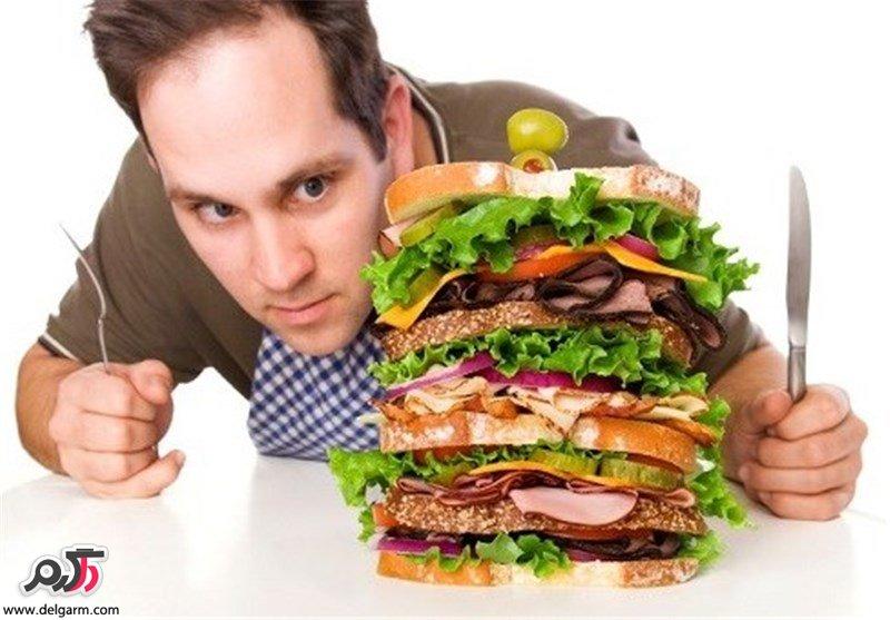 گرسنگی مداوم به چه علت است؟