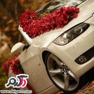 تزئینات ماشین عروس مرداد2016