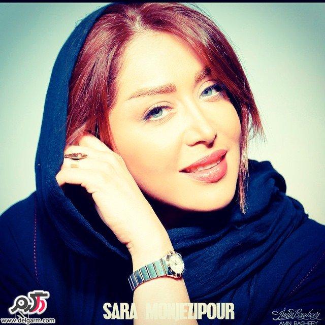 چهره ی زیبای سارا منجزی