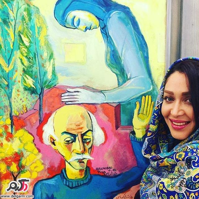 سری جدید از عکس های سارا منجزی بازیگر زن ایرانی