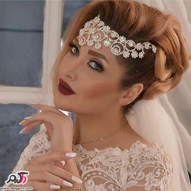 جدید ترین آرایش چهره ی عروس